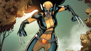 Mr Sinister and X-23 as Wolverine