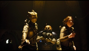 Strax - Stand back ladies. I will eliminate all of these vile creatures with no mercy