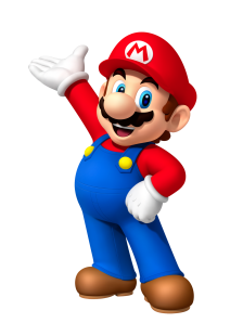 It's a he, Mario