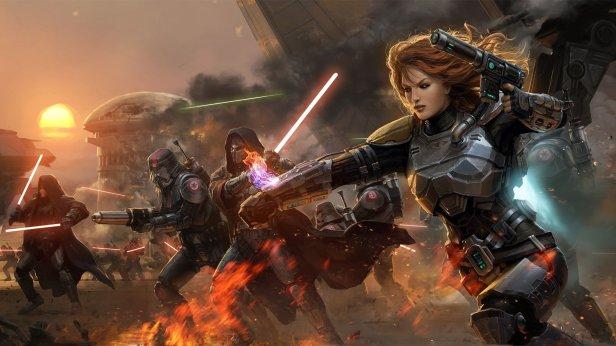 Star Wars old republic new