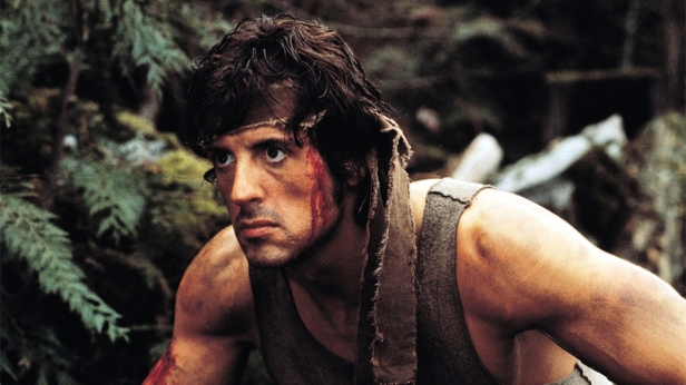 "Sylvester Stalone in ""Rambo: First Blood"""